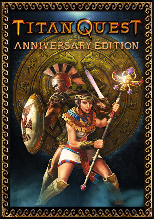 Titan Quest Anniversary Edition - Cover