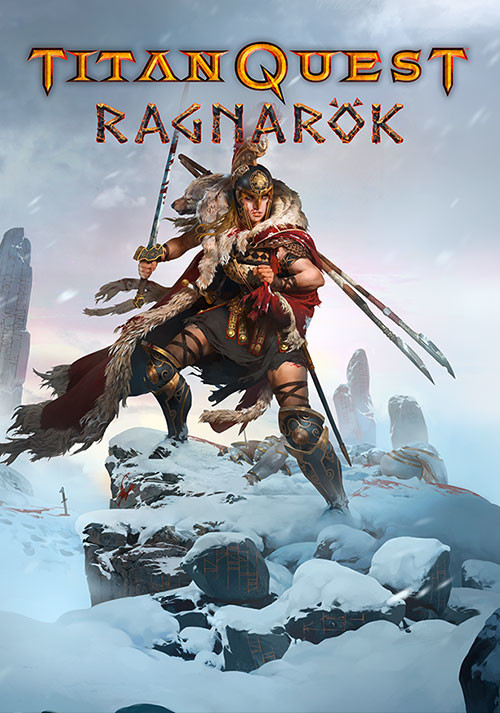 Titan Quest: Ragnarök - Cover