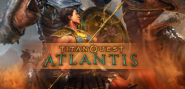 Titan Quest: Atlantis - Cover / Packshot