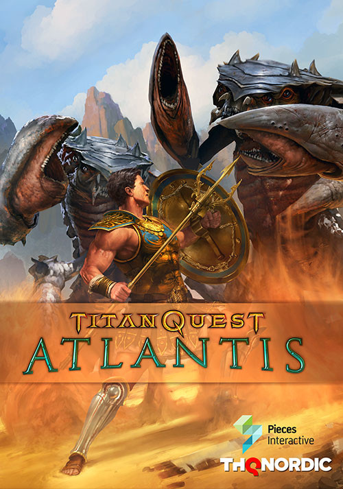 Titan Quest: Atlantis - Cover / Packshot