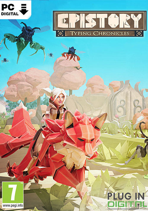 Epistory - Typing Chronicles - Cover / Packshot
