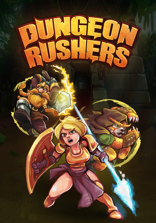 Dungeon Rushers - Cover