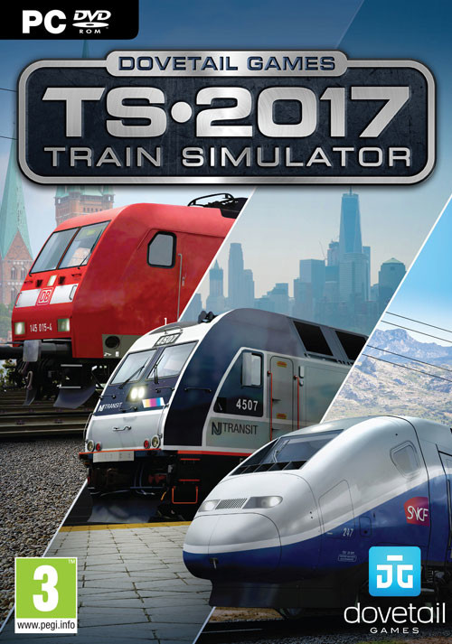 Train Simulator 2017 - Cover / Packshot
