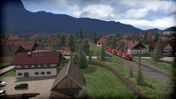 Screenshot1 - Train Simulator: Munich - Garmisch-Partenkirchen Route Add-On