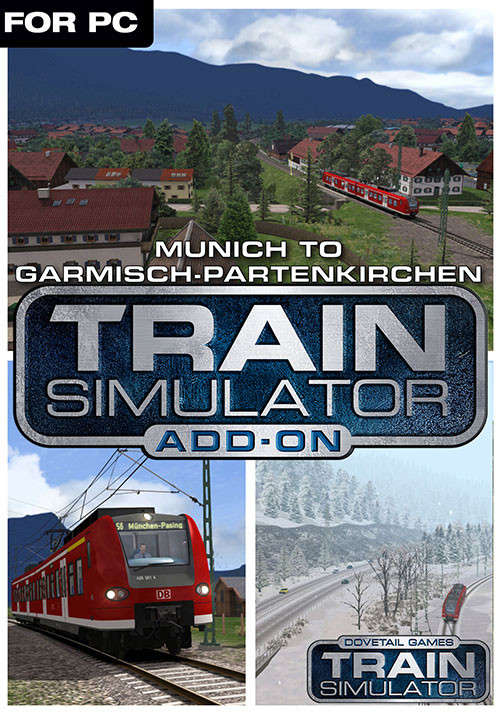 Train Simulator: Munich - Garmisch-Partenkirchen Route Add-On - Cover / Packshot