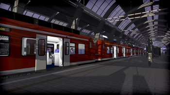 Screenshot4 - Train Simulator: The Rhine Railway: Mannheim - Karlsruhe Route Add-On
