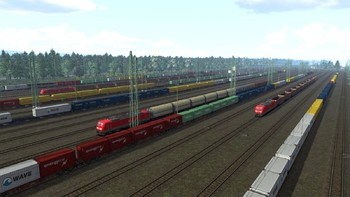 Screenshot6 - Train Simulator: The Rhine Railway: Mannheim - Karlsruhe Route Add-On