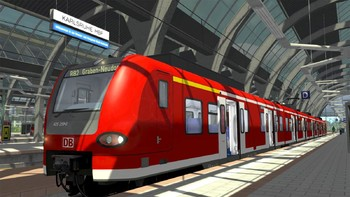 Screenshot2 - Train Simulator: The Rhine Railway: Mannheim - Karlsruhe Route Add-On