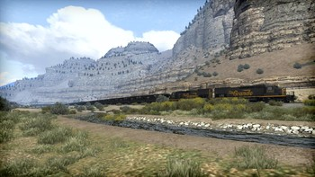 Screenshot1 - Train Simulator: Soldier Summit Route Add-On