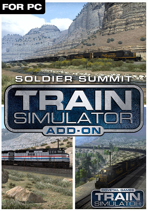 Train Simulator: Soldier Summit Route Add-On - Cover / Packshot
