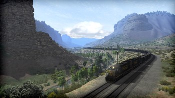 Screenshot2 - Train Simulator: Soldier Summit Route Add-On