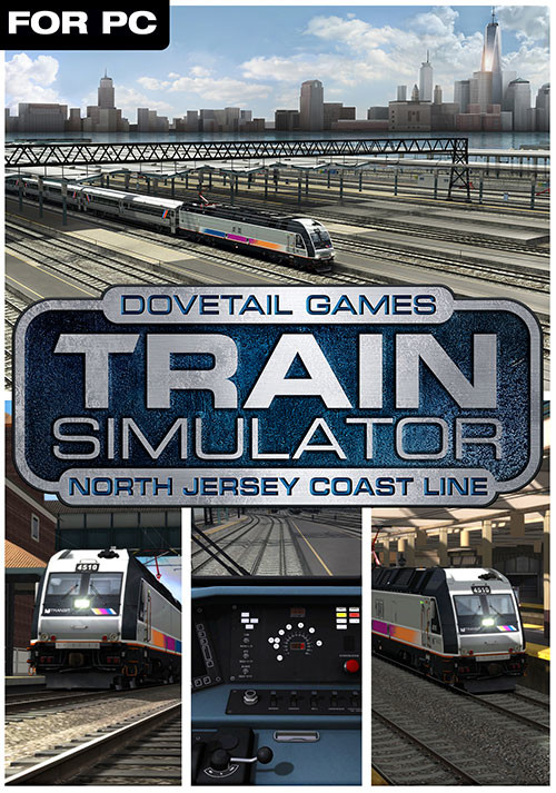 Train Simulator: North Jersey Coast Line Route Add-On - Cover