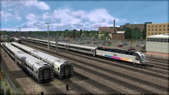 Screenshot1 - Train Simulator: North Jersey Coast Line Route Add-On