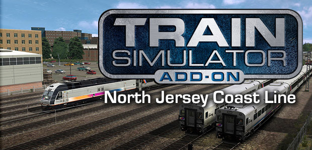 Train Simulator: North Jersey Coast Line Route Add-On - Cover / Packshot