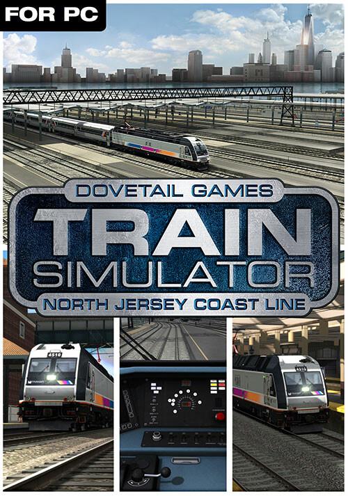 Train Simulator: North Jersey Coast Line Route Add-On - Cover