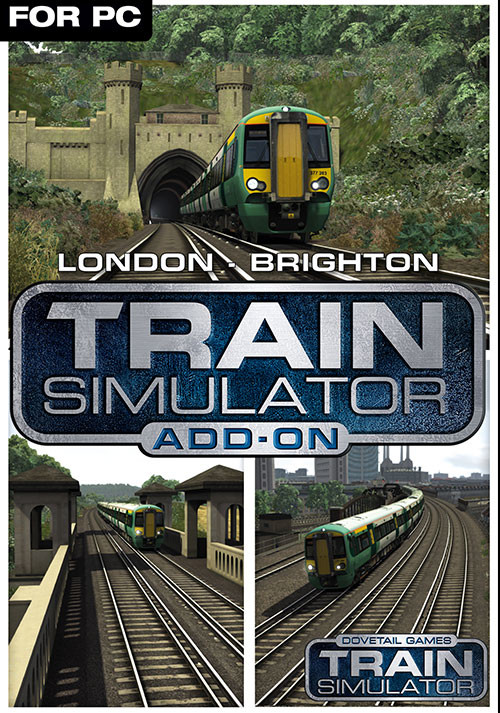 Train Simulator: London to Brighton Route Add-On - Cover / Packshot