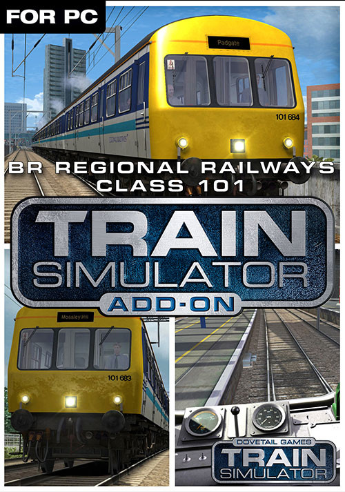 Train Simulator: BR Regional Railways Class 101 DMU Add-On - Cover / Packshot