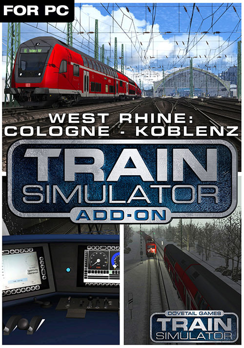 Train Simulator: West Rhine: Köln - Koblenz Route Add-On - Cover