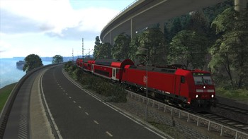 Screenshot2 - Train Simulator: West Rhine: Köln - Koblenz Route Add-On
