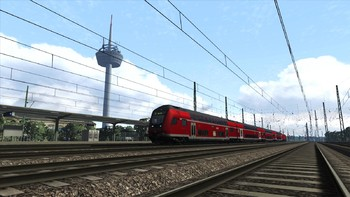 Screenshot1 - Train Simulator: West Rhine: Köln - Koblenz Route Add-On