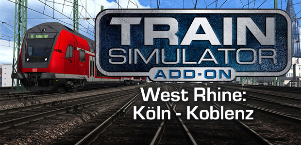 Train Simulator: West Rhine: Köln - Koblenz Route Add-On - Cover / Packshot
