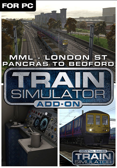 Train Simulator: Midland Main Line London-Bedford Route Add-On - Cover / Packshot