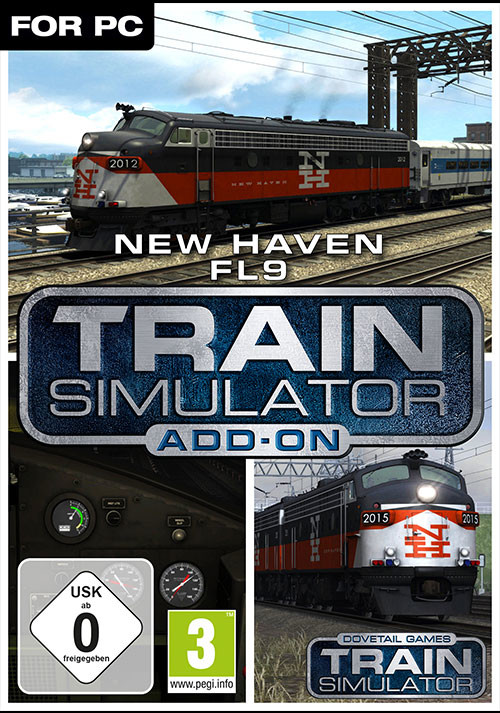 Train Simulator: New Haven FL9 - Cover