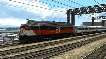Screenshot2 - Train Simulator: New Haven FL9