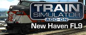 Train Simulator: New Haven FL9