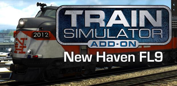 Train Simulator: New Haven FL9 - Cover / Packshot