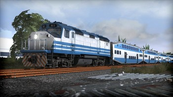 Screenshot1 - Train Simulator: Miami Commuter Rail F40PHL-2 Loco Add-On