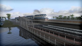 Screenshot2 - Train Simulator: Miami Commuter Rail F40PHL-2 Loco Add-On