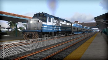 Screenshot4 - Train Simulator: Miami Commuter Rail F40PHL-2 Loco Add-On