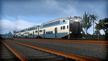 Screenshot5 - Train Simulator: Miami Commuter Rail F40PHL-2 Loco Add-On