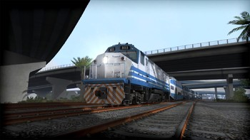 Screenshot8 - Train Simulator: Miami Commuter Rail F40PHL-2 Loco Add-On