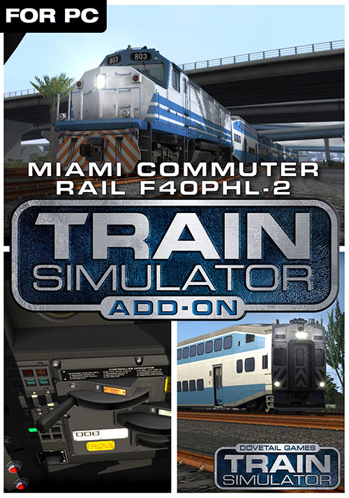 Train Simulator: Miami Commuter Rail F40PHL-2 Loco Add-On - Cover / Packshot
