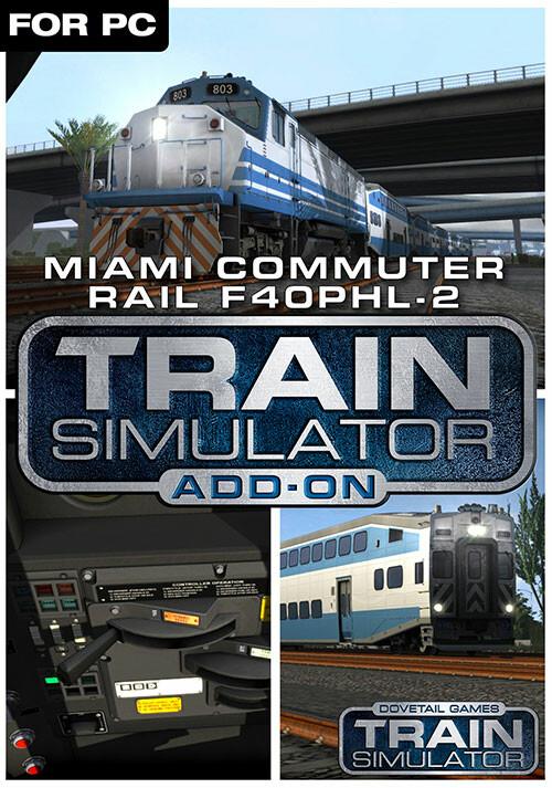 Train Simulator: Miami Commuter Rail F40PHL-2 Loco Add-On - Cover