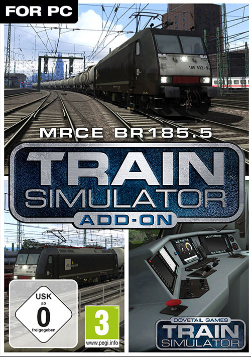 Train Simulator: MRCE BR 185.5 Loco Add-On - Cover