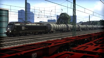 Screenshot1 - Train Simulator: MRCE BR 185.5 Loco Add-On