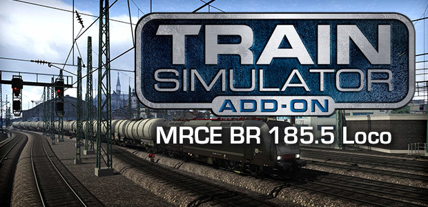 Train Simulator: MRCE BR 185.5 Loco Add-On - Cover / Packshot