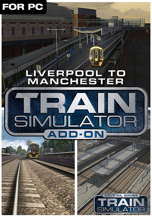 Train Simulator: Liverpool-Manchester Route Add-On - Cover / Packshot