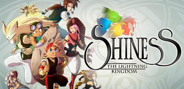 Shiness: The Lightning Kingdom - Cover / Packshot