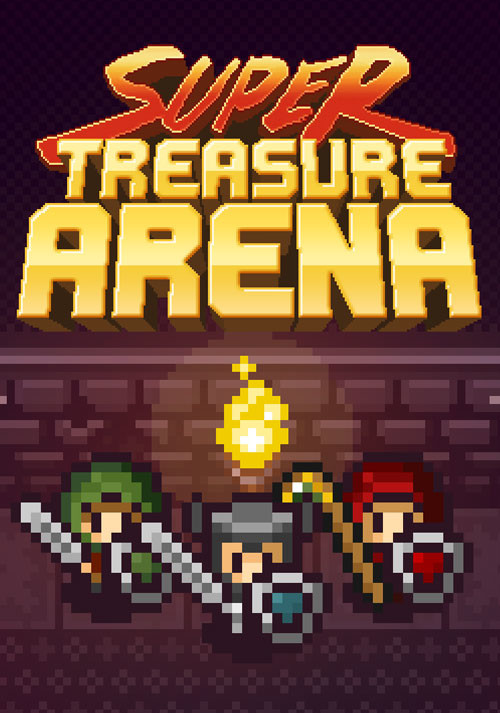 Super Treasure Arena - Cover / Packshot