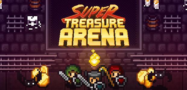 Super Treasure Arena - Cover / Packshot