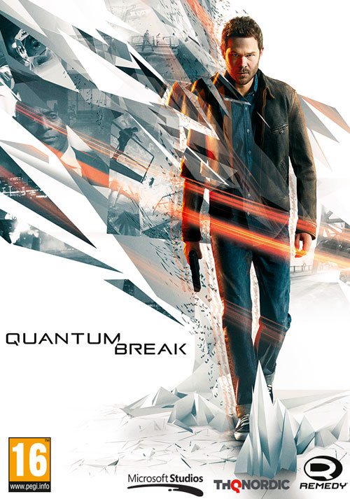 Quantum Break - Cover
