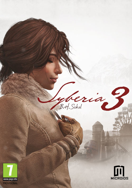Syberia 3 - Cover / Packshot