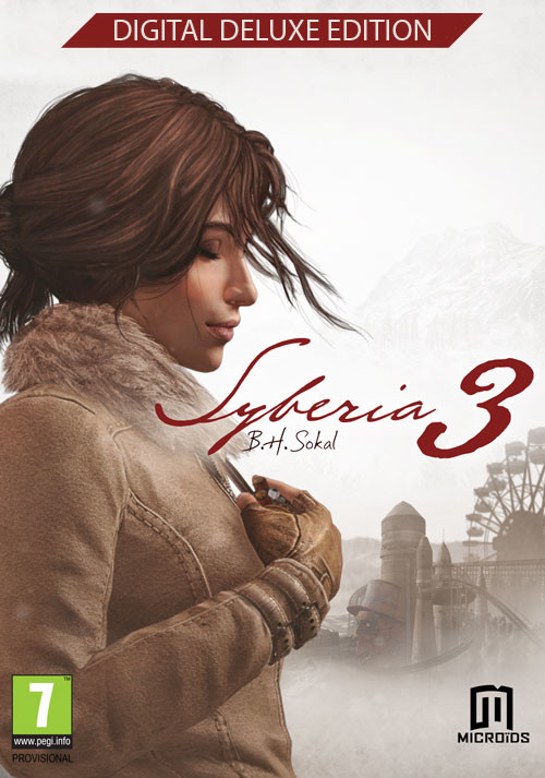 Syberia 3 Deluxe Edition - Cover / Packshot