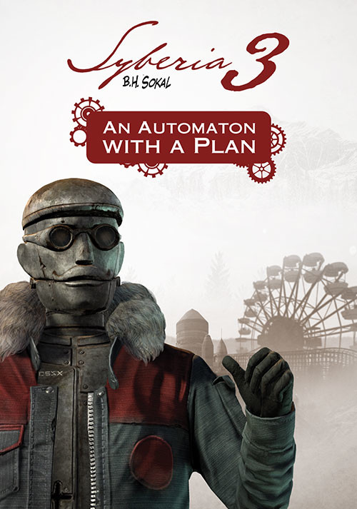 Syberia 3 - An Automaton with a plan - Cover / Packshot