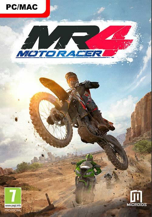 Moto Racer 4 - Cover / Packshot