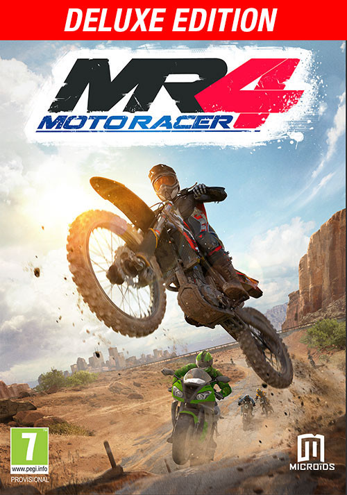 Moto Racer 4 Deluxe Edition - Cover